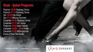 Tangoperest Ocak Şubat Programı
