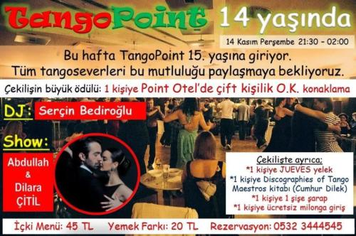 Point Milonga Tango Show