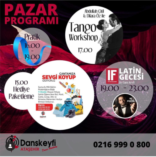 Ataşehir Dans Keyfi Tango Workshop