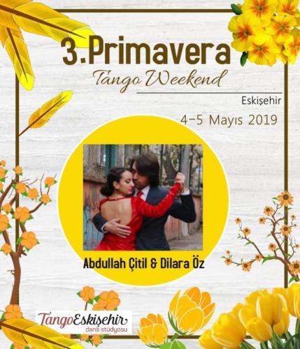Primavera Eskişehir Tango Meeting